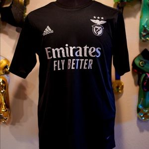New Black Everton Benfica away 20/21 Jersey